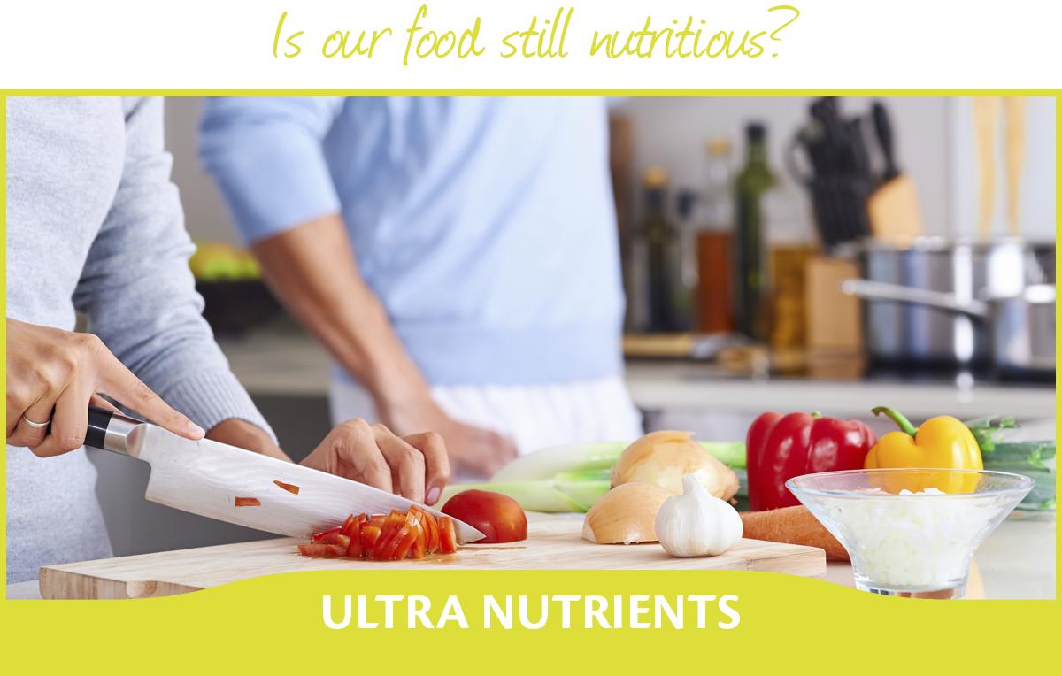 ¿Nuestra comida sigue siendo nutritiva?