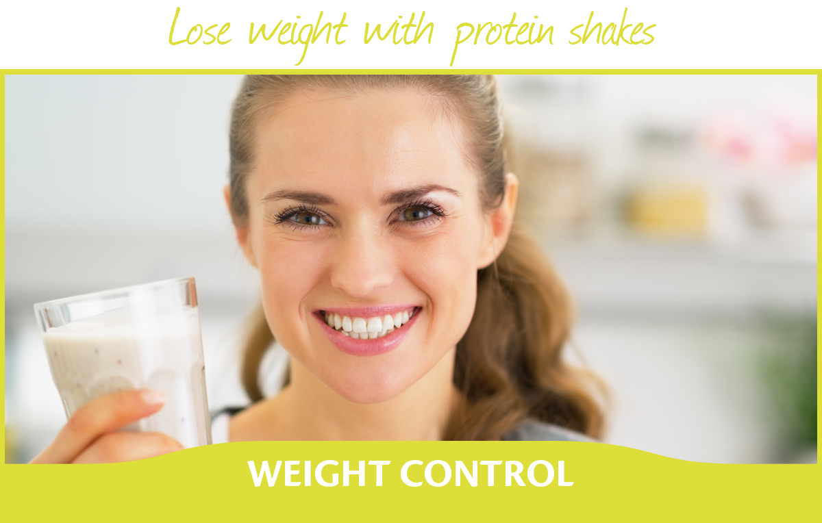 Lose weight with protein shakes
